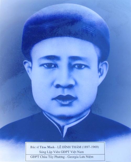 Bác Sĩ Tâm Minh - Lê Đình Thám ( 1897 - 1969 )