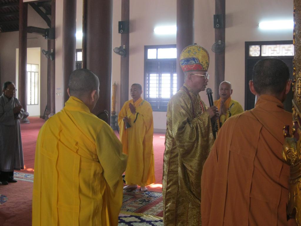TT.Huế: Ban Hướng Dẫn Phân Ban GĐPT Thừa Thiên Huế tổ chức lễ hiệp kỵ