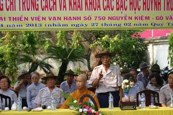 Huynh trưởng cấp Tấn Thị Bá – Huỳnh Văn Tùng