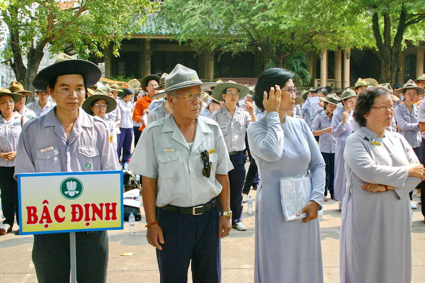 Bậc Định do Huynh trưởng cấp Tấn Tịnh Phúc – Lê Thị Tịnh làm trưởng ban điều hành