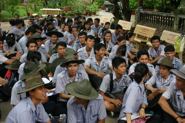 Niềm hân hoan của các tân học viên bậc Kiên