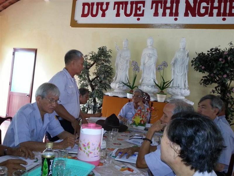 Bà Rịa Vũng Tàu: Phân ban GĐPT tổ chức phiên họp đầu tiên năm 2014