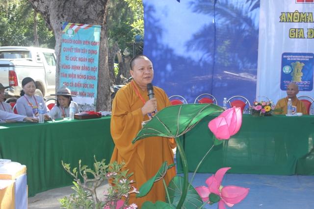 Phát biểu của Đại Đức Thích Huệ Phát, Phó ban Trị sự GHPGVN THị xã Điện Bàn
