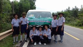 Ban Hướng dẫn PB GĐPT Đà Nẵng tổ chức tặng quà đồng bào bị lũ lụt tại xã Yên Hóa, huyện Minh Hóa, tỉnh Quảng Bình