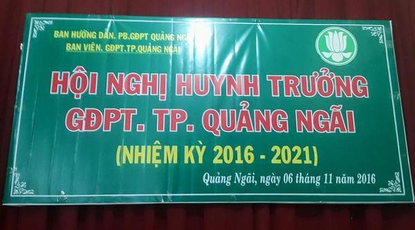GĐPT Quảng Ngãi hoàn thành công tác tổ chức Hội nghị Huynh trưởng Nhiệm kỳ 2016 – 2022 tại các huyện, thành phố trong tỉnh.