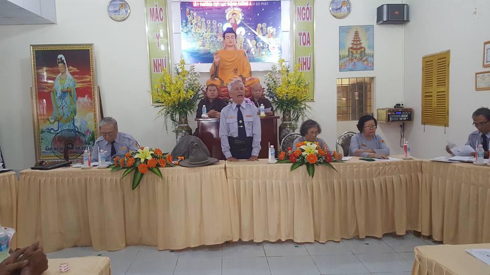 Ban Hướng dẫn GĐPT Trung ương thăm và làm việc tại miền tây Nam Bộ