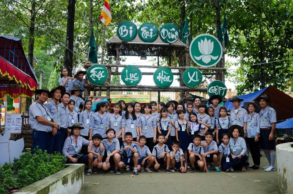 Bình Dương: Trại họp bạn Lục Hoà 2017