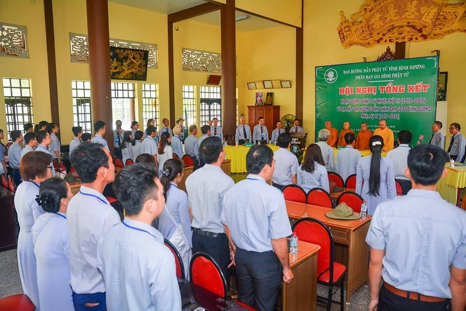 Bình Dương: Hội nghị TK nhiệm kỳ - Ra mắt BHD nhiệm kỳ mới