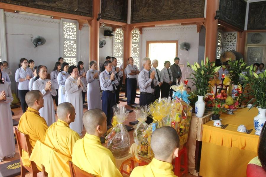 Gia đình Phật tử TP.HCM tổ chức lễ hiệp kỵ