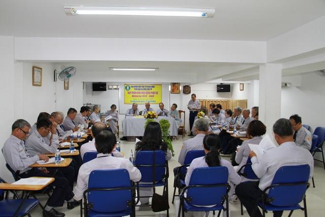 BHD GĐPT TƯ tổ chức phiên họp với các tỉnh phía Nam