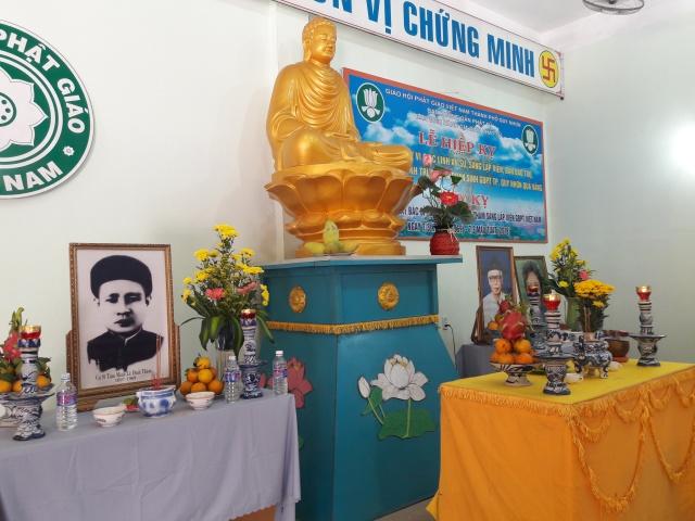 Gia đình Phật tử thành phố Quy Nhơn tổ chức Lễ hiệp kỵ.