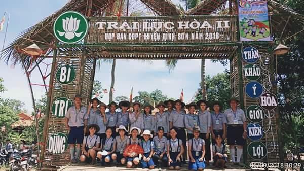 GĐPT huyện Bình Sơn, tỉnh Quảng Ngãi:  Tổ chức thành công Trại họp bạn Lục Hòa 2.