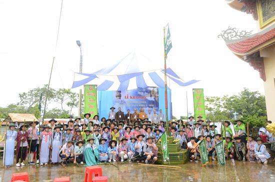 GĐPT Đaknong tổ chức liên trại huấn luyện huynh trưởng A Dục Lộc Uyển