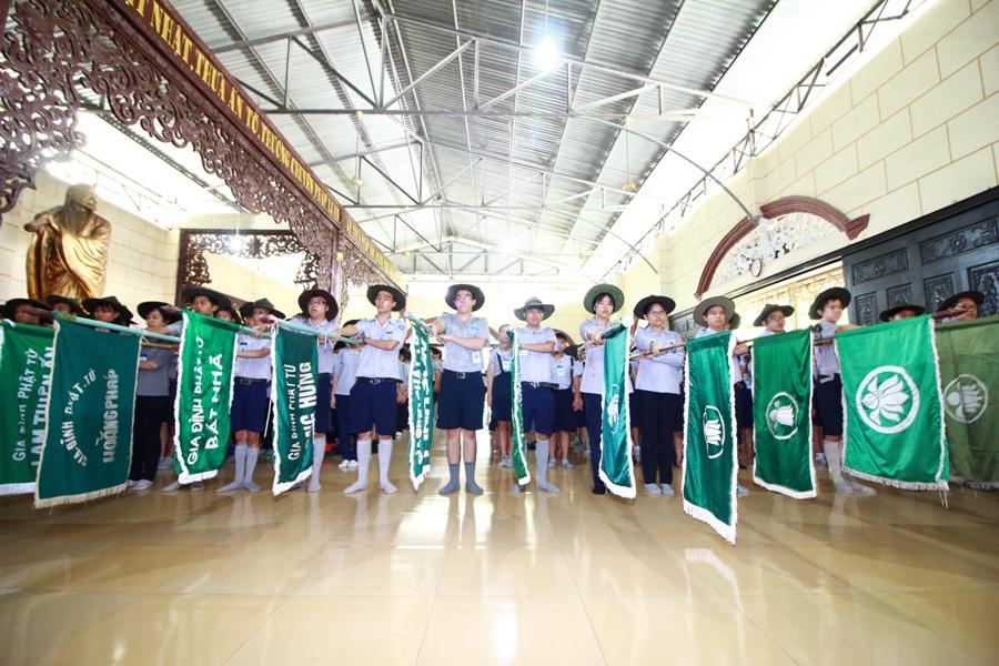 Phân ban GĐPT TP.HCM khai mạc trại Lục Hòa XII