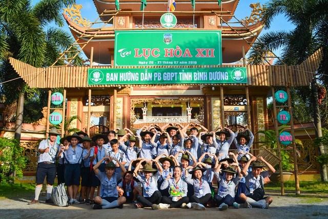 Bình Dương: Ban Hướng Dẫn Phân Ban Gia Đình Phật Tử tổ chức trại Lục Hòa lần thứ 12 năm 2019.
