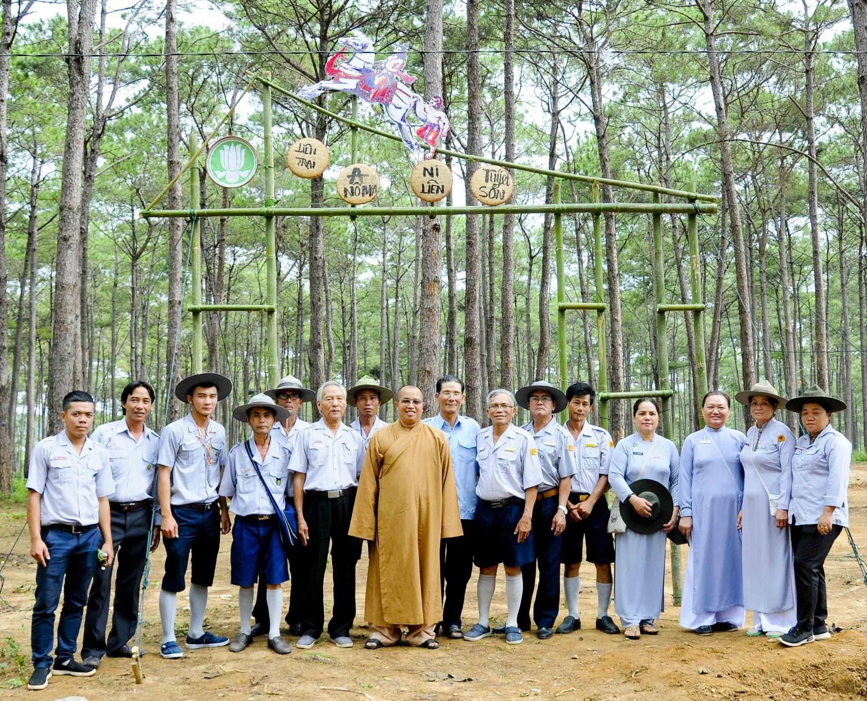 Kon Tum: Liên trại huấn luyện Anoma - Ni Liên - Tuyết Sơn