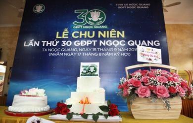 Đắk Lắk: Lễ Chu niên lần thứ 30 GĐPT Ngọc Quang