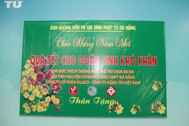 BHD GĐPT Đà Nẵng trao quà tết cho đoàn sinh khó khăn đón mừng năm Canh Tý