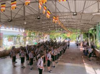 Bà Rịa Vũng Tàu kết thúc giai đoạn I trại huấn luyện huynh trưởng Lộc Uyển - A Dục