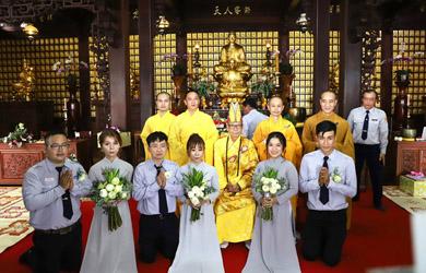 Đắk Lắk:Lễ Hằng Thuận cho Huynh trưởng tại chùa Sắc Tứ Khải Đoan