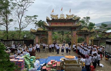 Ban Hướng dẫn Phân ban GĐPT Đắk Lắk cứu trợ bão lụt tỉnh Quảng Nam