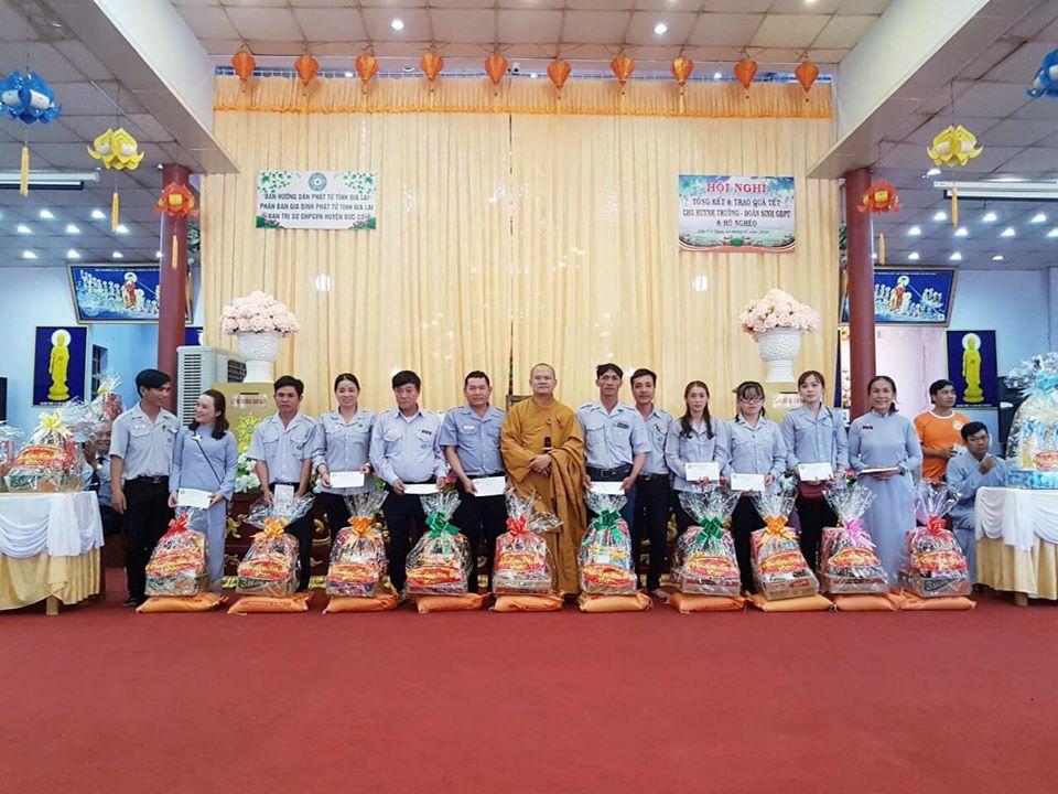 Ban HDPT Gia Lai tổ chức lễ Hiệp Kỵ và trao quà cho Huynh trưởng - Đoàn sinh GĐPT